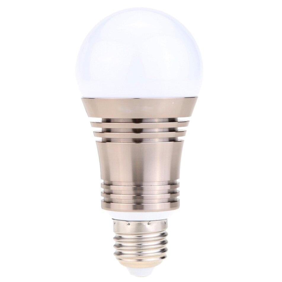 6.5 Вт E27 Superlight Bluetooth LED RGB умный свет лампы смартфон контролируемых затемнения изменение цвета лампы для IPhone IPad