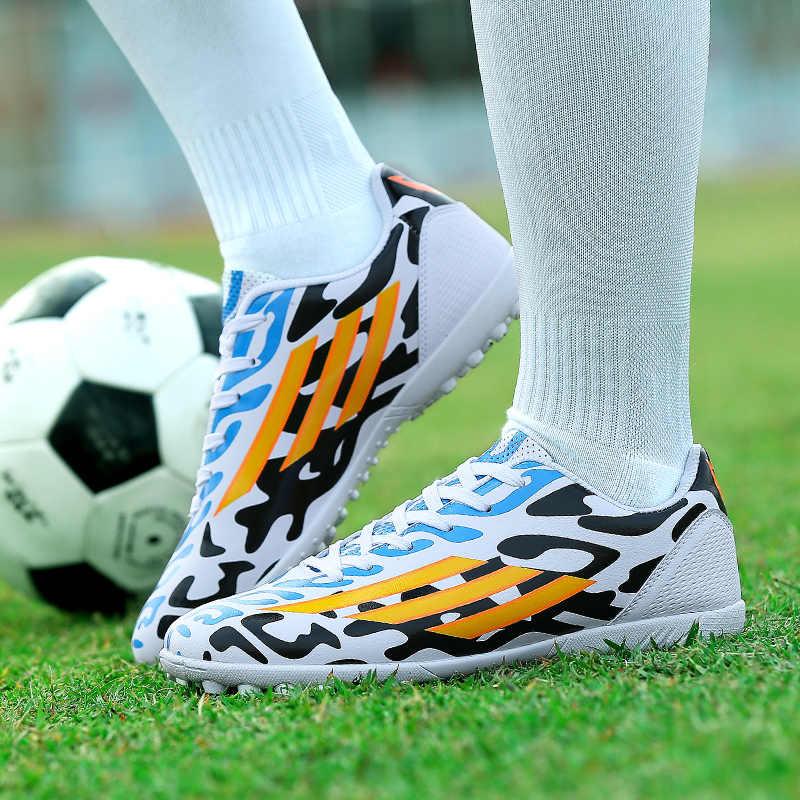 Profesyonel Yetişkin erkek Açık Futbol Cleats Ayak Bileği En TF/FG Futbol futbol kramponları Eğitmenler Spor Ayakkabı Ayakkabı EU31--44