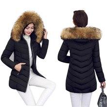 16 см парка с воротником из натурального меха, пуховик, хлопковая куртка, зимняя куртка для женщин, толстая зимняя одежда, зимнее пальто, женская одежда, Женская куртка