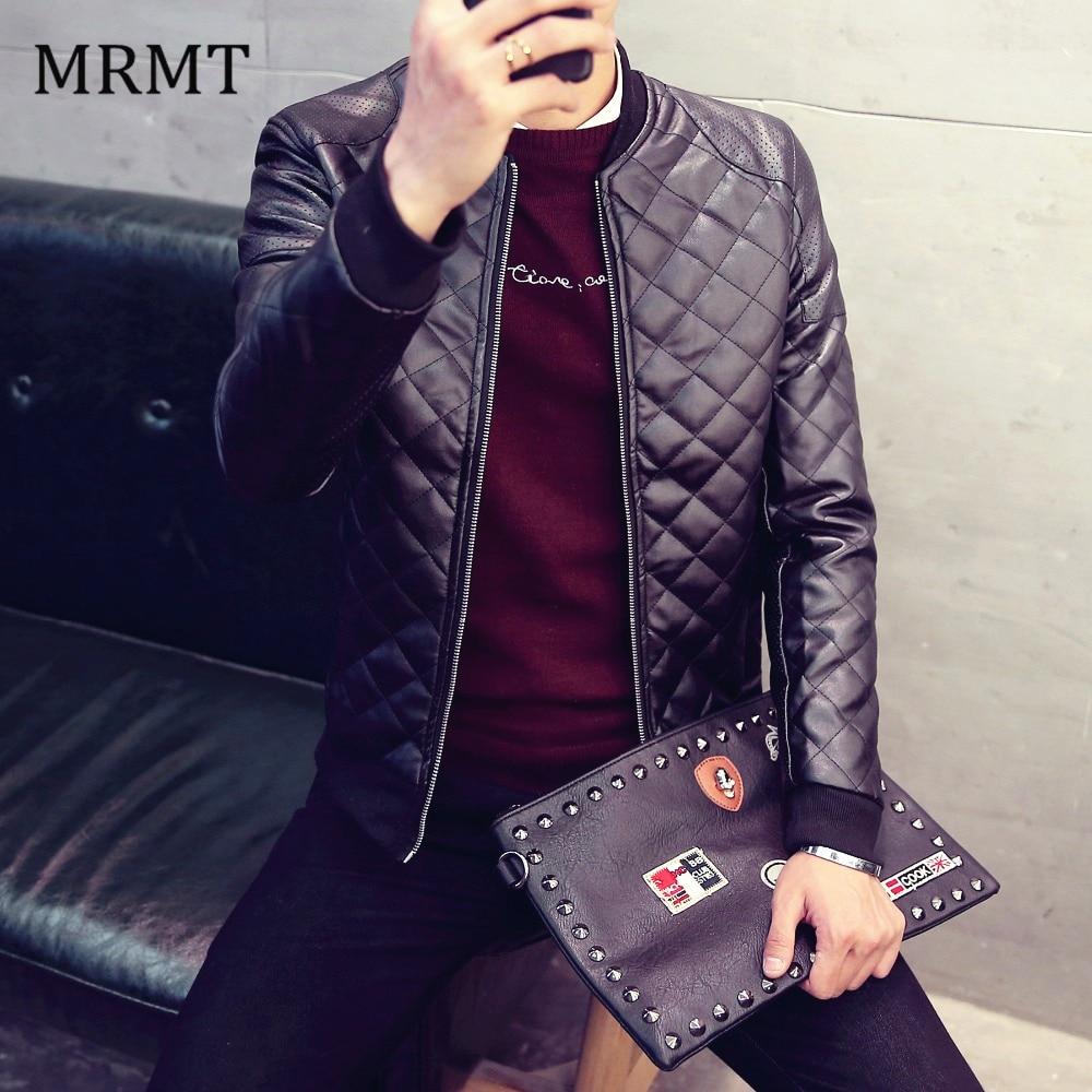2020 Brand Mens Leather Jacket Coat Fall Winter Biker Bomber Male Jacket Thin Men'S Jackets Men PU Warm Coats New Clothing