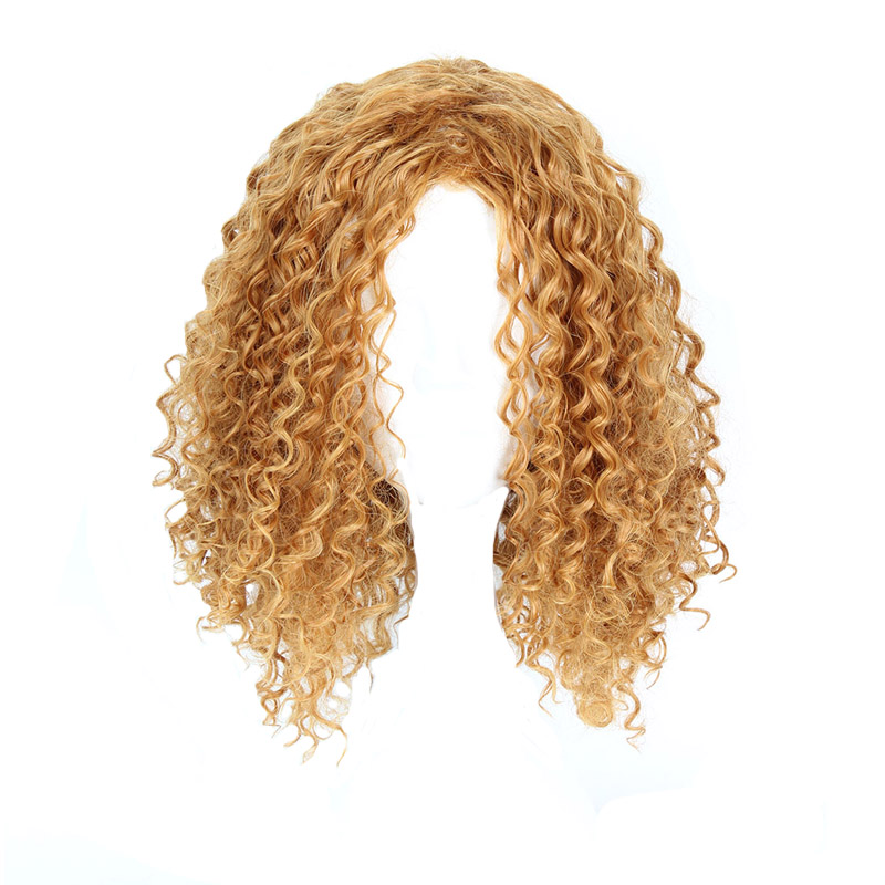 Rational Mcoser 30 Cm Short Synthetic Curly 4 Styles Color Europe And The Welling Fade 100% High Temperature Fiber Wig-809 Clearance Price Synthetic Wigs