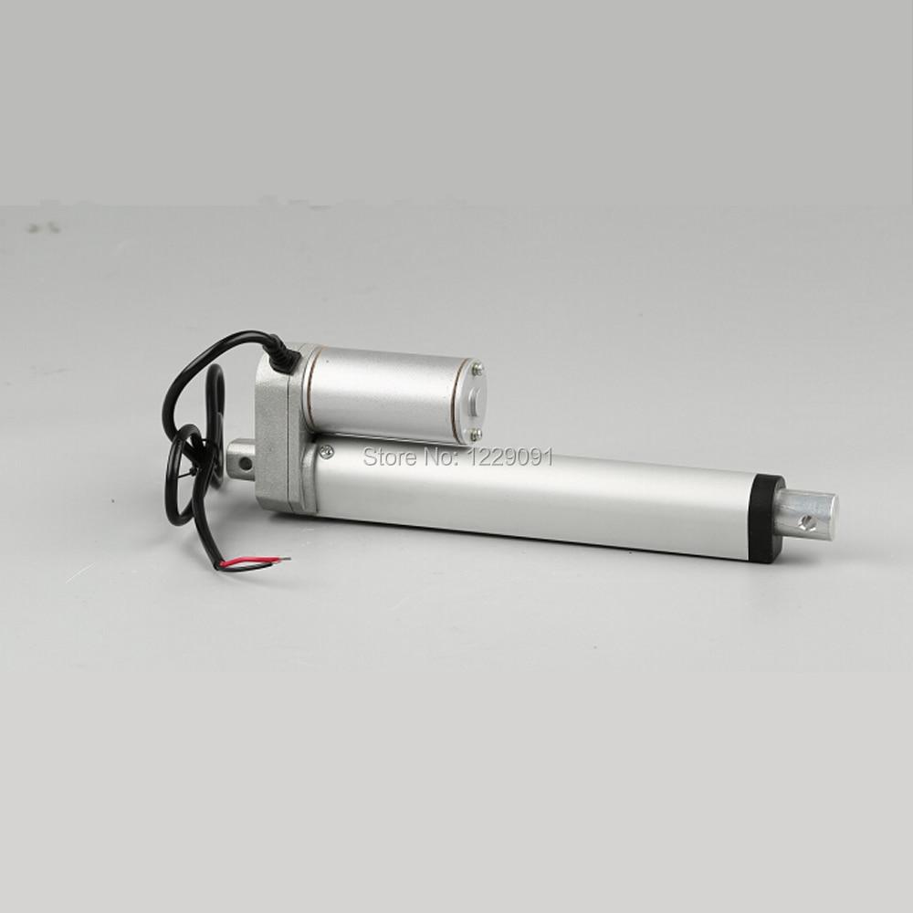 Electric Linear actuator 100mm Stroke linear motor controller dc 12V 24V 200/350/400/600/700/750N