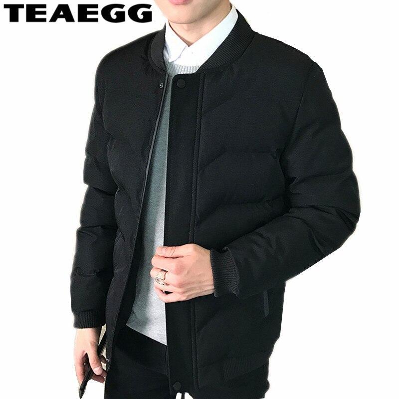 teaegg mens winter coats blouson homme hiver plus size 3xl. Black Bedroom Furniture Sets. Home Design Ideas
