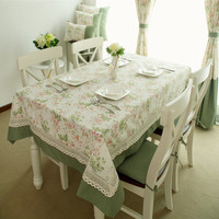 New Hot Sale Hight GradeTable Cloth Pastoral Style Table Cover Home Party Coffee Party Table