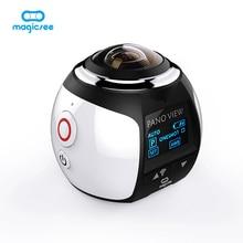 360 Камера Full HD 1080 P панорамный Камера Встроенный Wi-Fi 16MP Водонепроницаемый спортивные Камера 30 м вождения VR Камера Экшн-камера