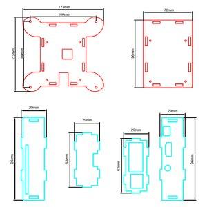Image 3 - Transparent Acrylic Case Cover Shell Enclosure Box for Raspberry PI 3 /Model B +/ Model B (NO Raspberry PI Board )