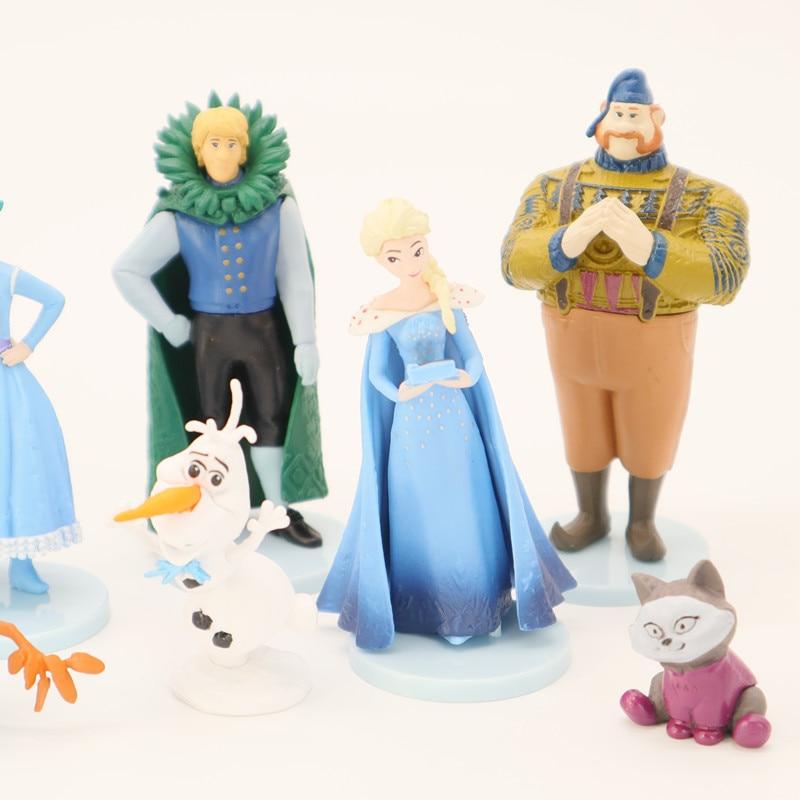 49a660c29e27b 10Pcs/set Disney Frozen Elsa Anna Olaf Figures PVC Model Toys ...