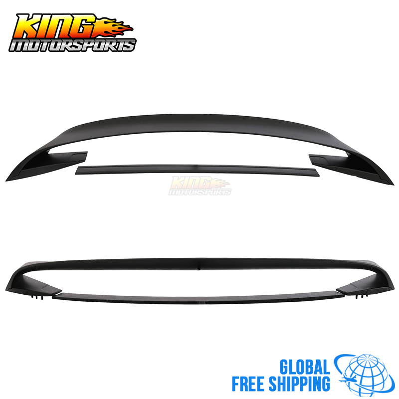 US $274 98 |For 15 17 Ford Mustang GT350 GT350R Style Rear Trunk Spoiler  Wing Matte Black ABS Global Free Shipping Worldwide-in Spoilers & Wings  from