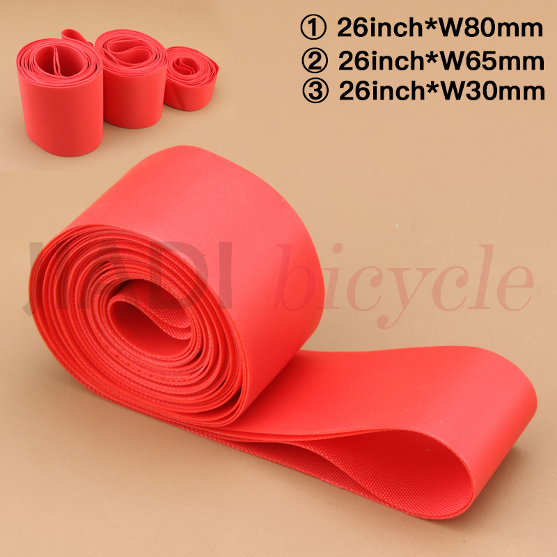 Snow <font><b>Bike</b></font> <font><b>Tire</b></font> Pad Bicycle Cycling 26 Inch Widened <font><b>Tire</b></font> Liner Puncture Proof MTB <font><b>Bike</b></font> Inner Tube Protective Pad PVC Nylon Pad image