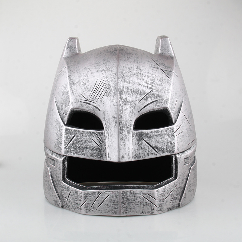 Free shipping Batman v Superman Dawn of Justice Batman Cosplay Mask Helmet Resin Action Figure Collectible Model Toy 1:1 KB0506 hot wow dc7 fall of the lich king arthas action figure model toy 21cm free shipping ka0447
