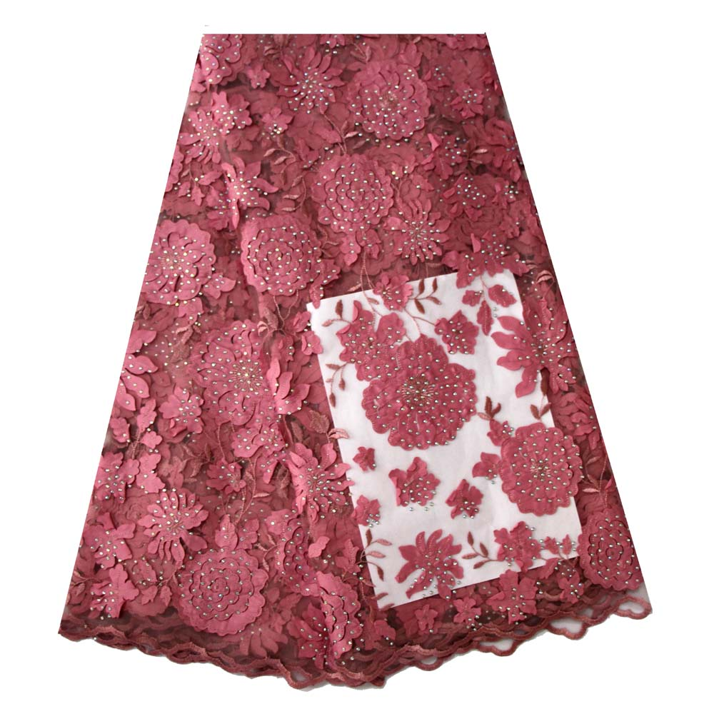 Ourwin New Fashion French Laser Cut Lace Fabric with Nigerian Blush Pink Lace Fabric for Dresses Beautiful Handcut Voile LaceOurwin New Fashion French Laser Cut Lace Fabric with Nigerian Blush Pink Lace Fabric for Dresses Beautiful Handcut Voile Lace