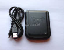 13.56 Mhz RFID כרטיס קורא USB קרבה חיישן פורמטים רב להתאים + 2 pcs F08 1 K לבן כרטיסי גישה