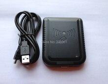13.56Mhz RFID Card Reader USB Proximity Sensor Multi Formats Adjust + 2pcs F08 1K White Access Cards
