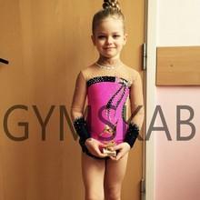 Изящное платье для гимнастики ритмики женский костюм для гимнастики 91006