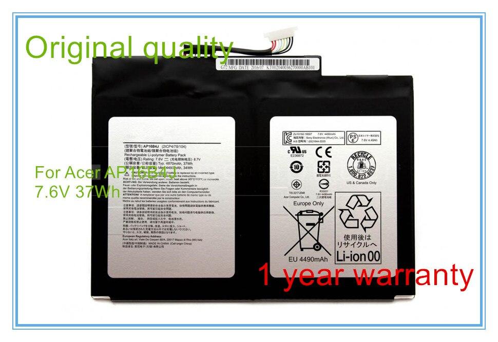Qualité d'origine nouveau commutateur Alpha 12 SA5-271 ordinateur portable tablette batterie AP16B4J