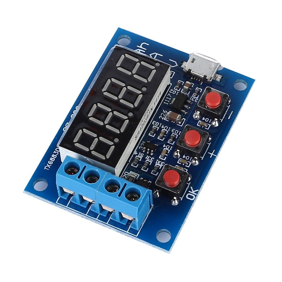 Blue Battery Capacity Meter Discharge Tester 18650 li-ion lithium Lead-acid 1.2-12v