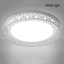 Новейший светодиодный светильник в виде птичьего гнезда, Круглый ворон, современный светильник для гостиной, спальни, кухни, современный светильник-KK