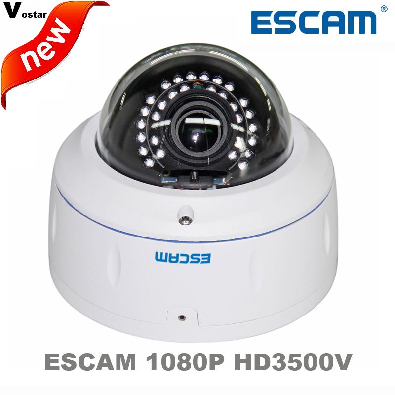 Escam HD3500V Onvif 2MP 1080P support POE H 264 Wireless Outdoor IP camera IP66 Waterproof Vandal