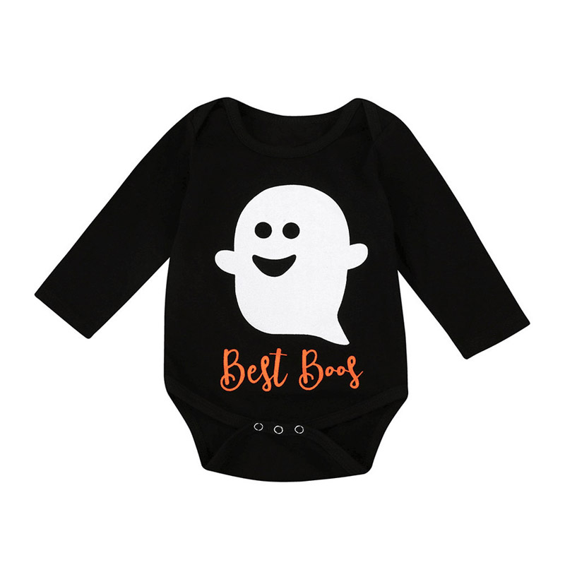 Autumn Spring Toddler Baby Boys Girls Romper Long Sleeve Jumpsuit Kids Halloween Clothes @ZJF