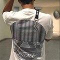 2017 Verão Nova T-shirt Homens Palácio Skates Onda Triângulo Imprimir Manga Curta camiseta Hombre Hip hop Streetwear Fashion Tees