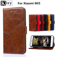 New Wallet Case For Xiaomi Mi 5 Xiaomi M5 Cell Phone Case Luxury Flip Leather Stand
