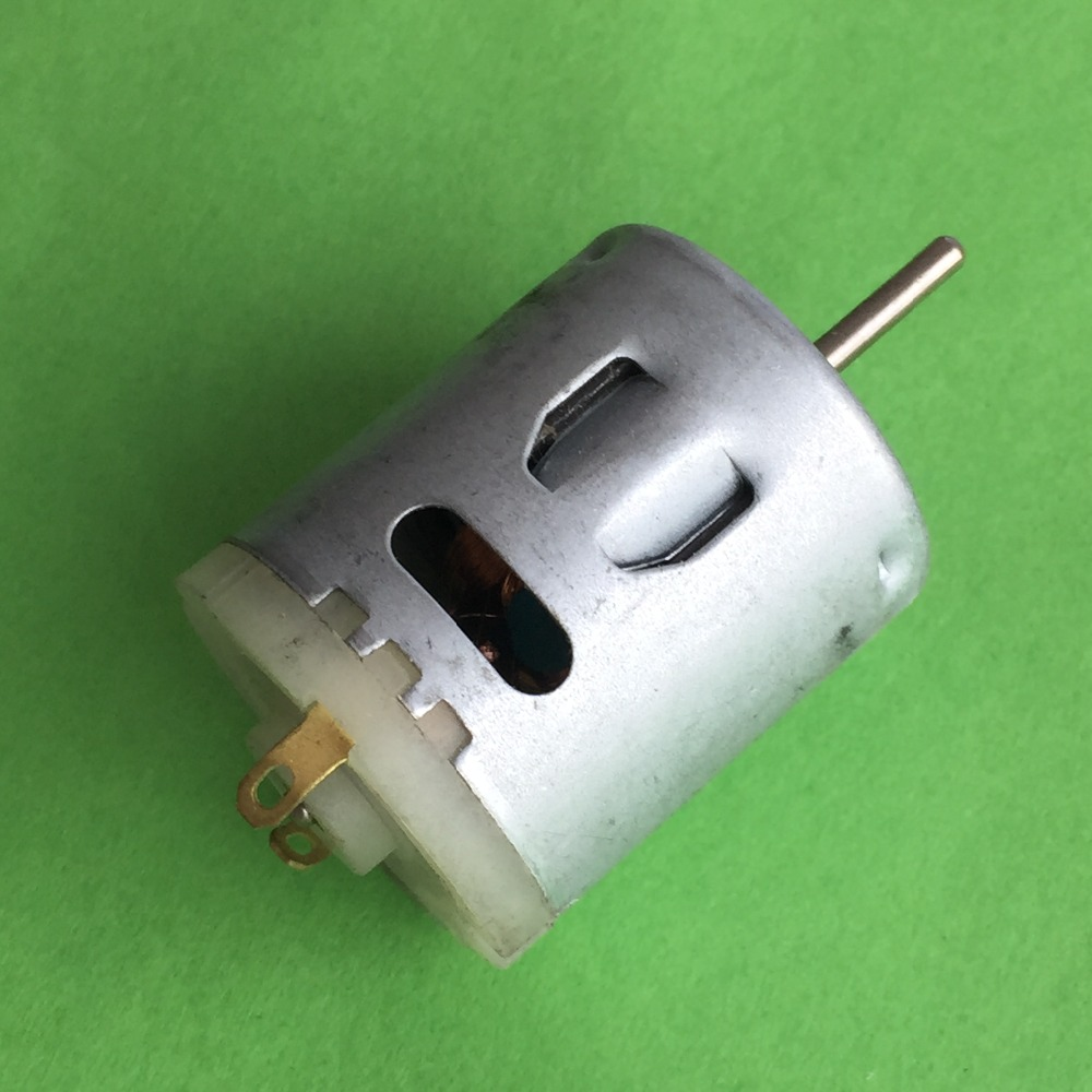K818Y DC6-12V 365 Circular Micro DC motor Steady Rotational Smoothly Large Low Noise Torque DIY Parts 545 large torque dc 3 24v motor low noise motor wind turbines micro motor diy motor for diy toy accessories