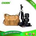 Caden cámara bolsa de dslr cámara de fotos caso bolsa de hombro messenger bag para nikon canon dslr cámara digital bolsa de lona