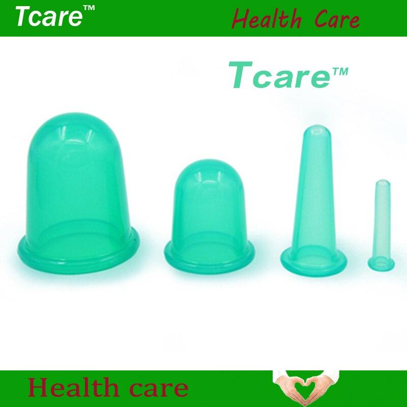 *Tcare 4Pcs/Set Body Beauty Silicone Vacs