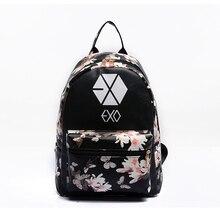 Veevanv 2016 корейские новые летние модные бабочка цветок рюкзаки для подростка экзо BIGBANG б Топ BTS рюкзаки женские сумки