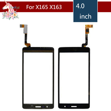 цена на High Quality 4.0 For LG L Bello II X150 X165 X163 X155 Touch Screen Digitizer Sensor Outer Glass Lens Panel Replacement