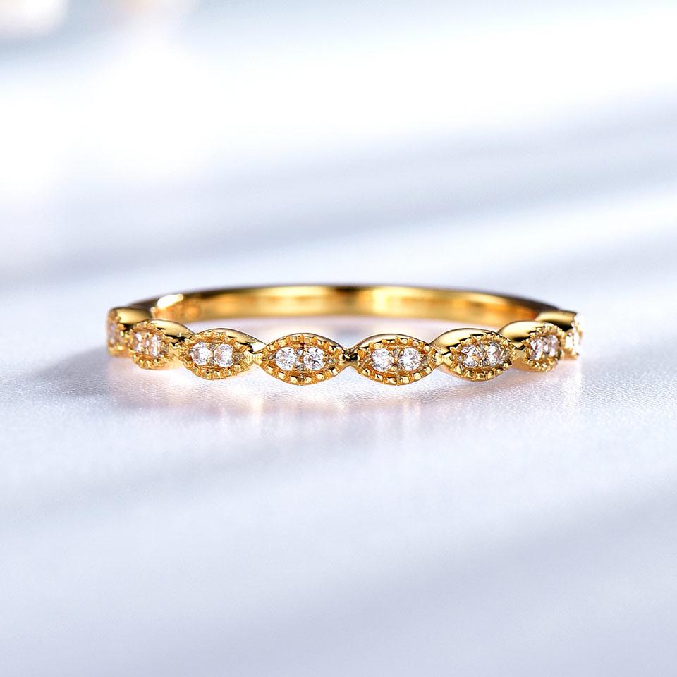 UMCHO Ægte Pure 925 Sterling Sølv Ringe For Kvinder Uendelig - Smykker - Foto 3