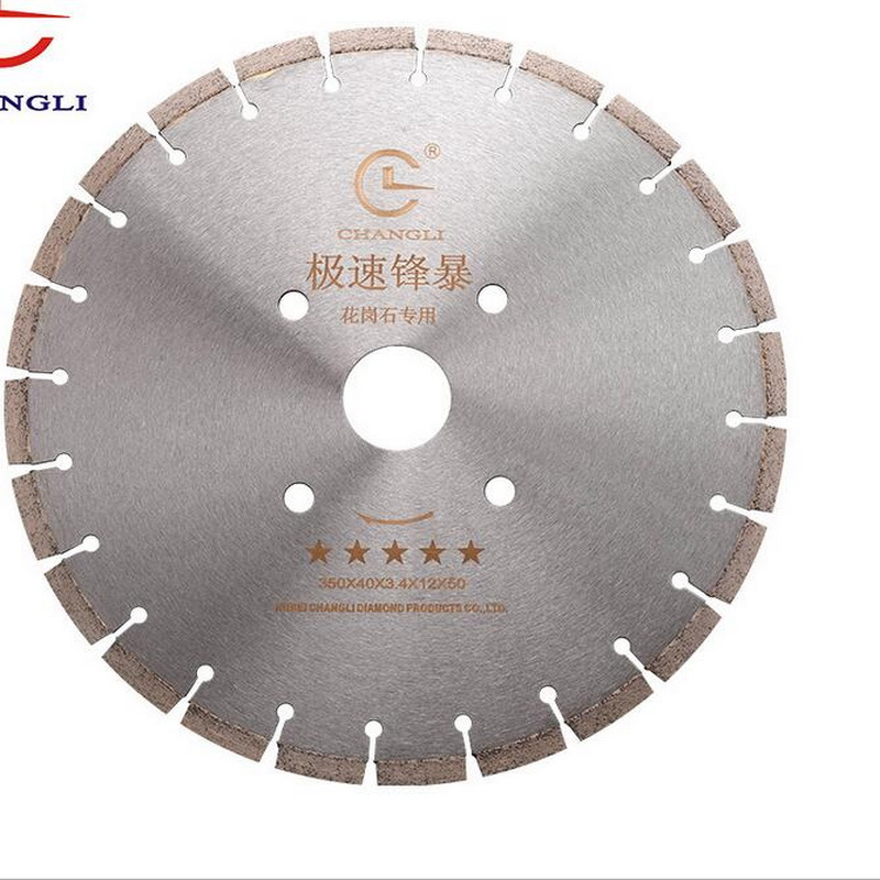 Promotion Sale Of 1PC Standard Quality 350*50*12mm Brazed Diamond Saw Blade For Hard Green Concrete Cutting