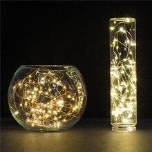 LemonBest 2 м 20 светодиодный s медный провод сказочные огни Рождественские огни внутренний светодиодный шнурок для фестиваля Свадебная вечеринка украшение дома лампа
