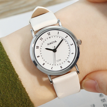 2017 XIAOYA Fashion Quartz Watch Casual Leather Watches Men Women Couple Watch Sports Wrist Watch Relogio Masculino Reloj Mujer