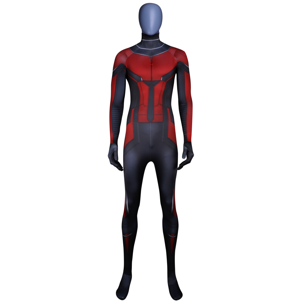 Kids Adult Bodysuit Ant-Man Movie Wasp Male Cosplay Siamese Tights Cosplay Clothing Zentai Halloween Costumes