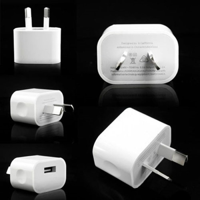 NOTOW (10 pieces/lot)5V 2A Australia New Zealand Plug USB AC Power Travel  wall home charger For iPhone All smart phones