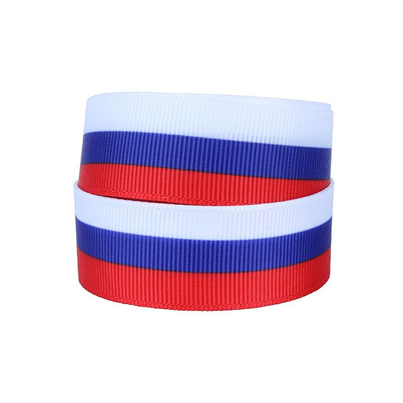 Оптовая продажа, лента с принтом флага Российской Федерации