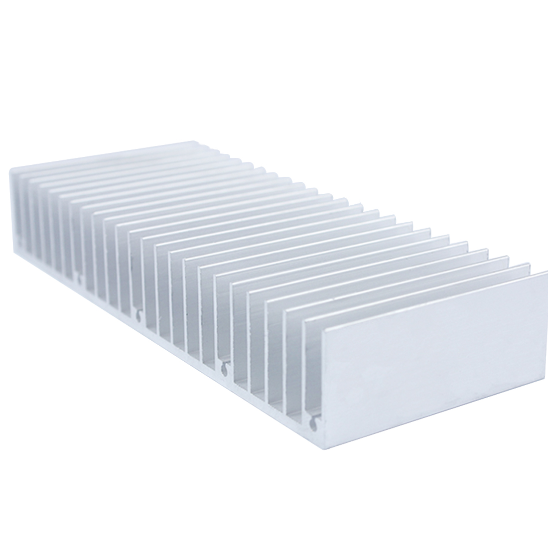 Etmakit Top Quality 150x60x25mm radiator Aluminum heatsink Extruded heat sink for LED Electronic heat dissipation cooling cooler 50pcs 8 8x8 8x5mm aluminum heatsink radiator cooling cooler for electronic chip ic ram led with thermal conductive tape