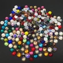 Все размеры розовый цитрин  Дизайн ногтей горный хрусталь кристалл