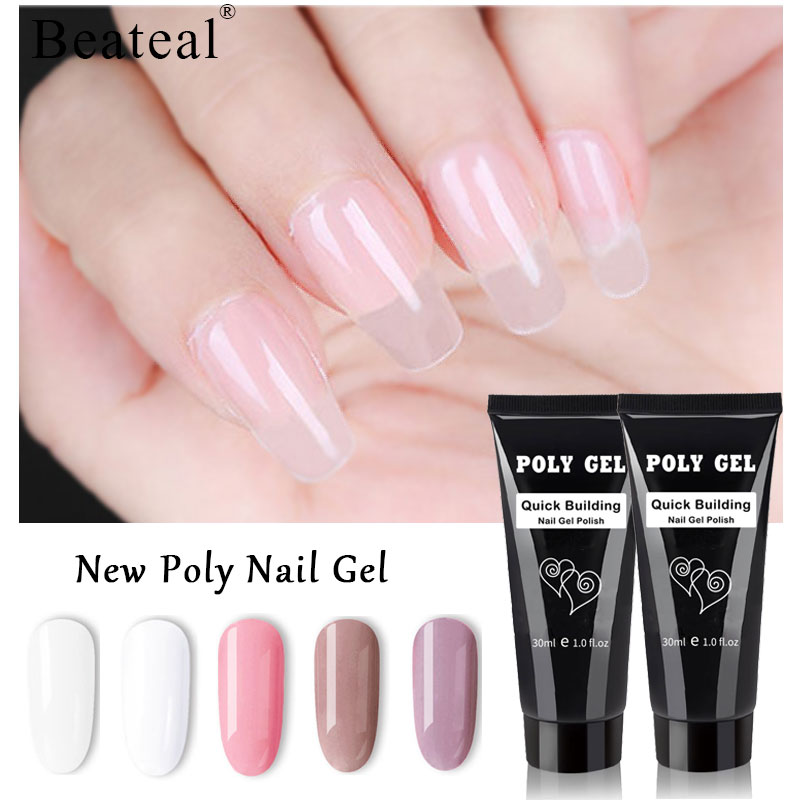Polygel Nails Acrylgel Acrylic Poly Gel Needn T Nail Paper Tray Transparent Clear Nail Art Top