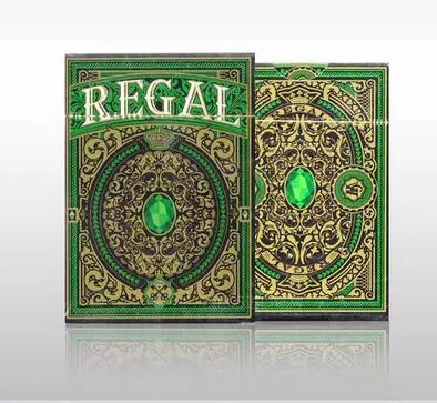 Regal Deck (Green) by Gamblers Warehouse imported from US playing cards magic tricks magic props