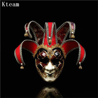Women Girl Party Mask Venice Mask Party Supplies Masquerade Mask Christmas Halloween Venetian Costumes Carnival Anonymous Masks