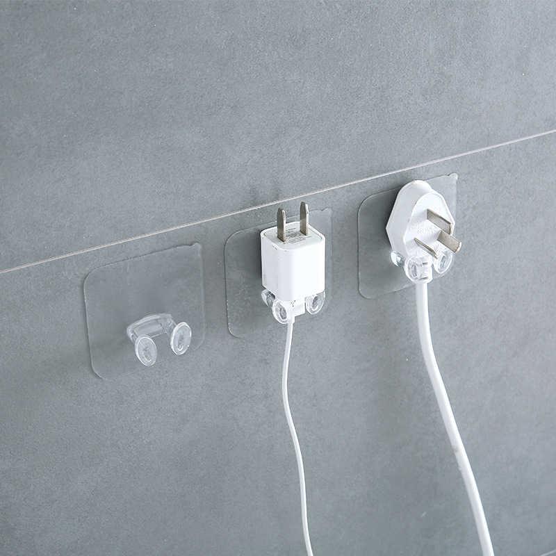3/10 шт. держатель кабеля Мощность розетка крючок для сумки вешалка домашний Наклейка на стену, органайзер, хранилище, сумочка, стеллажи для выставки товаров для Кухня офисные Гостиная