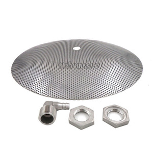 Image 3 - 30.5cm 12 Paslanmaz Çelik için Yanlış Alt Homebrew Pot Dönüştürür bir Mash Tun Homebrew Ekipmanları Su Isıtıcısı