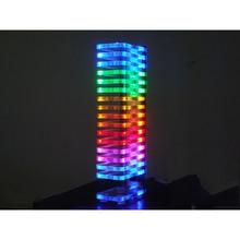 KS16 светодиодный дисплей уровня музыкального спектра VU Tower фантазия Кристалл звуковая колонка электронная