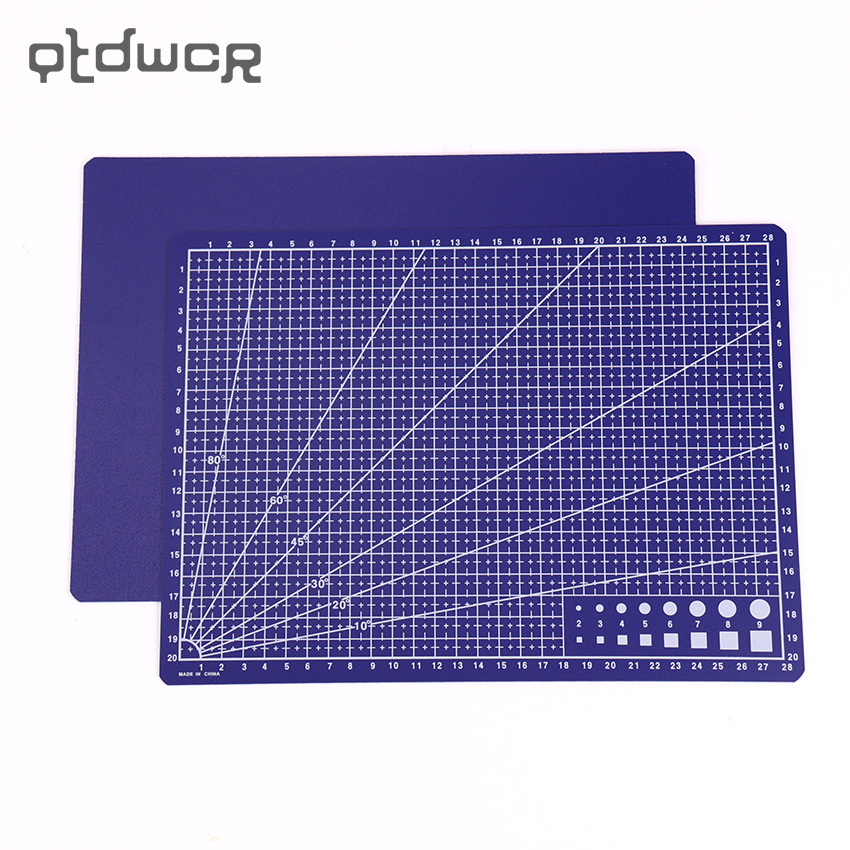 A4 Plastic Cutting Mat Board 30*22cm Carving Cut Cardboard Office Stationery Supplies