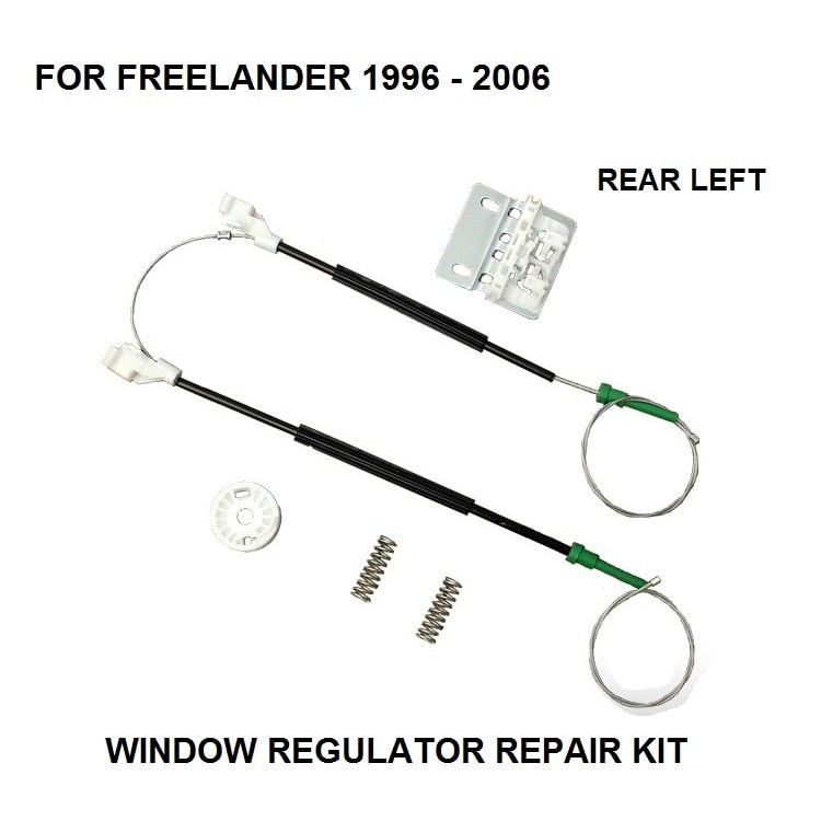 for land rover freelander car automatic window regulator door repair kit rear left cvh101212
