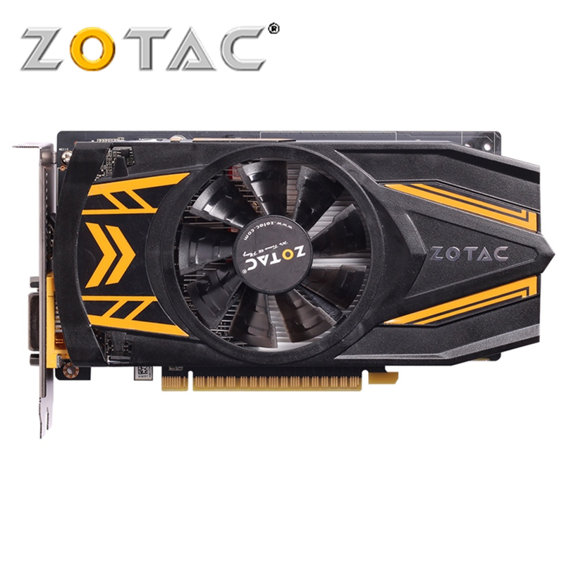 Оригинальная видеокарта ZOTAC GeForce GTX 650 Ti 1GD5 128 бит видеокарты GDDR5 для nVIDIA GTX650 Ti Thunder edition Hdmi Dvi VGA
