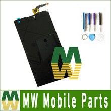 1 PC/Lot Alta Calidad Para DEXP IXION W5 Digitalizador de Pantalla Táctil + Lcd de Repuesto Pantalla Asamblea Con Herramientas Negro Color