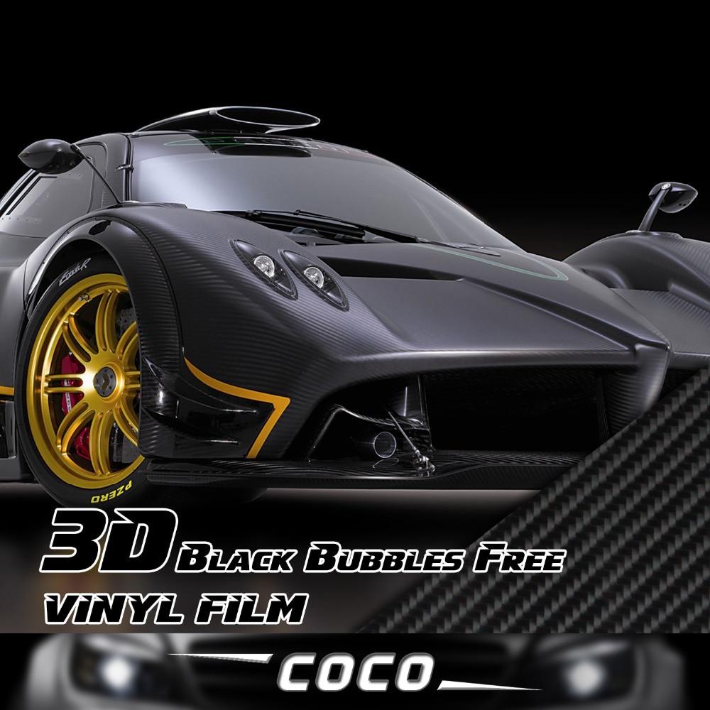 Car carbon sticker design - 236 X19 7 600x50cm Sticker Wrap Decal 3d Carbon Fiber Vinyl Film Bubble